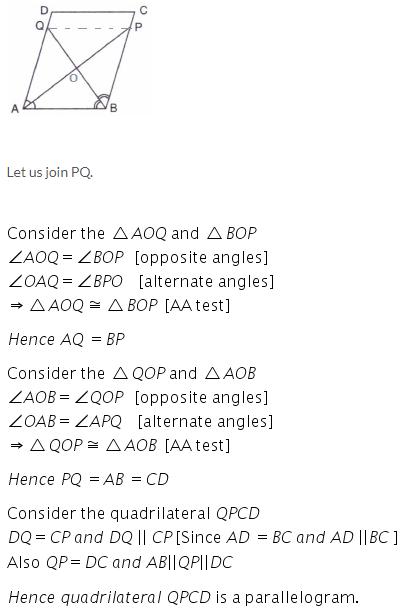 Selina Concise Mathematics Class 9 ICSE Solutions Rectilinear Figures [Quadrilaterals Parallelogram, Rectangle, Rhombus, Square and Trapezium] image - 31