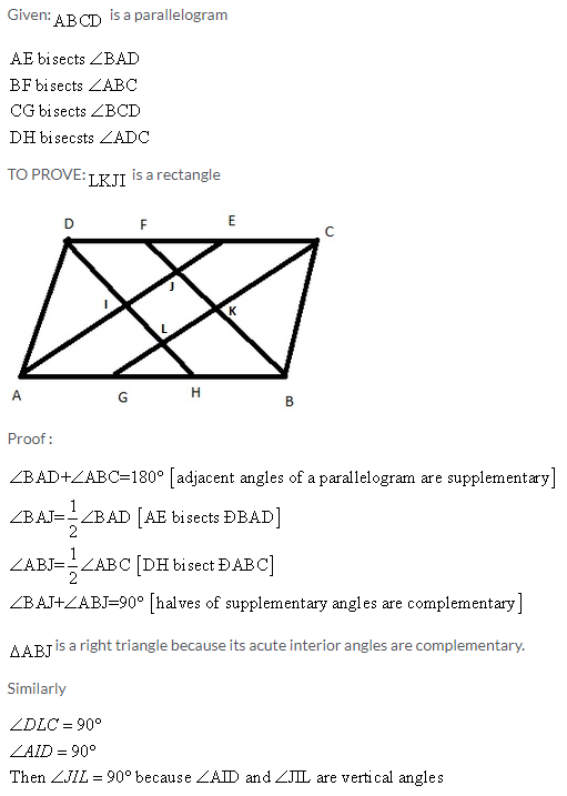 Selina Concise Mathematics Class 9 ICSE Solutions Rectilinear Figures [Quadrilaterals Parallelogram, Rectangle, Rhombus, Square and Trapezium] image - 34