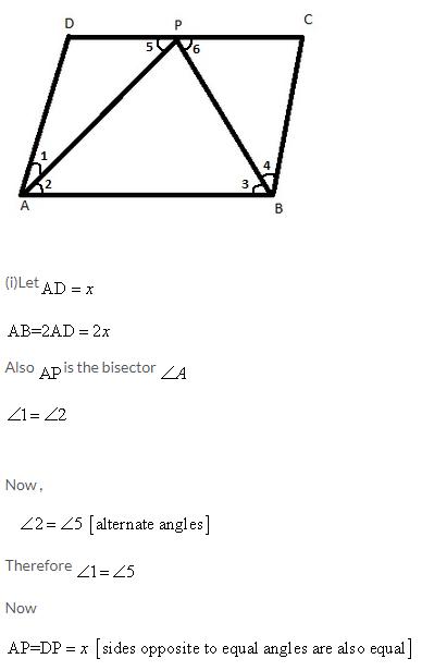 Selina Concise Mathematics Class 9 ICSE Solutions Rectilinear Figures [Quadrilaterals Parallelogram, Rectangle, Rhombus, Square and Trapezium] image - 37