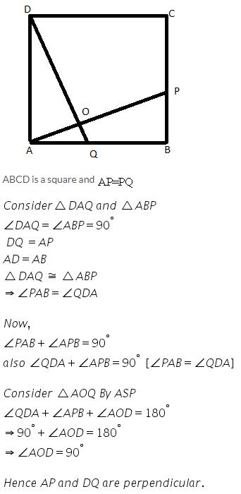 Selina Concise Mathematics Class 9 ICSE Solutions Rectilinear Figures [Quadrilaterals Parallelogram, Rectangle, Rhombus, Square and Trapezium] image - 41