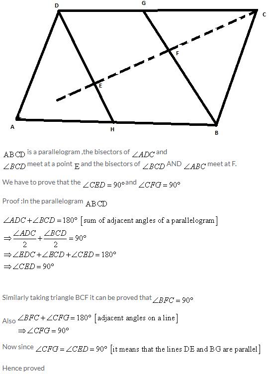 Selina Concise Mathematics Class 9 ICSE Solutions Rectilinear Figures [Quadrilaterals Parallelogram, Rectangle, Rhombus, Square and Trapezium] image - 45
