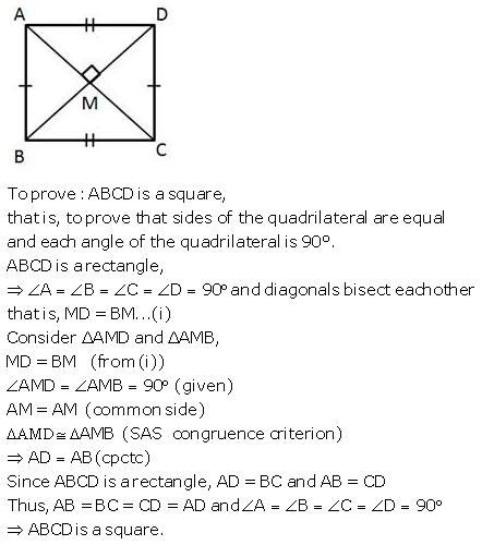 Selina Concise Mathematics Class 9 ICSE Solutions Rectilinear Figures [Quadrilaterals Parallelogram, Rectangle, Rhombus, Square and Trapezium] image - 46