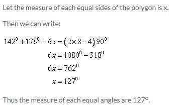 Selina Concise Mathematics Class 9 ICSE Solutions Rectilinear Figures [Quadrilaterals Parallelogram, Rectangle, Rhombus, Square and Trapezium] image - 6
