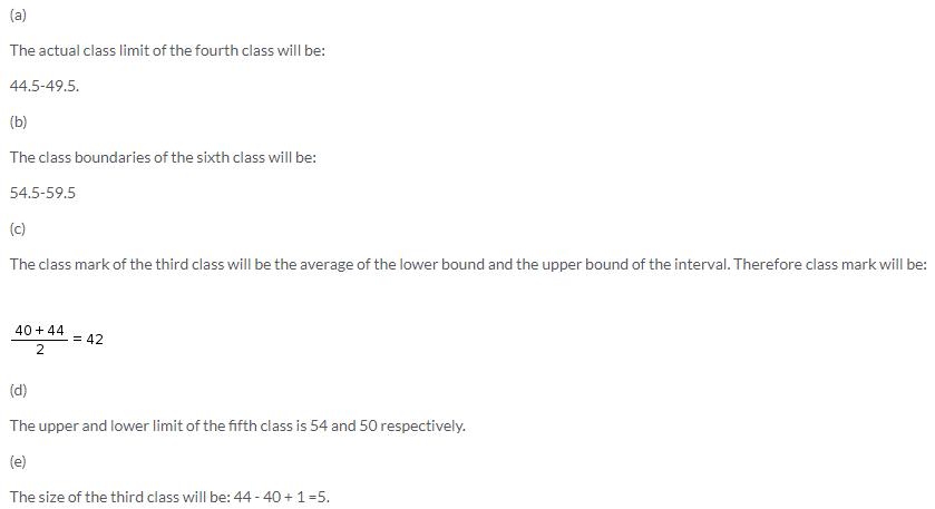 Selina Concise Mathematics Class 9 ICSE Solutions Statistics image - 6