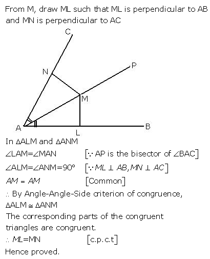 Selina Concise Mathematics Class 9 ICSE Solutions Triangles [Congruency in Triangles] 12