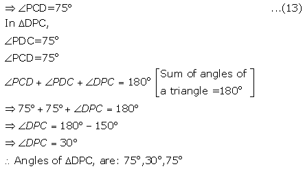 Selina Concise Mathematics Class 9 ICSE Solutions Triangles [Congruency in Triangles] 29