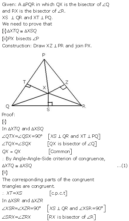 Selina Concise Mathematics Class 9 ICSE Solutions Triangles [Congruency in Triangles] 32