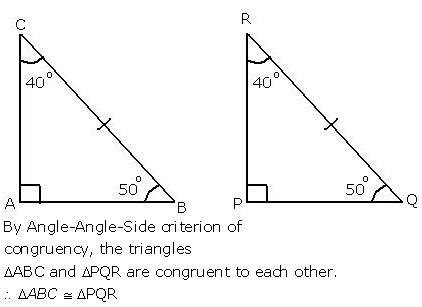 Selina Concise Mathematics Class 9 ICSE Solutions Triangles [Congruency in Triangles] 4