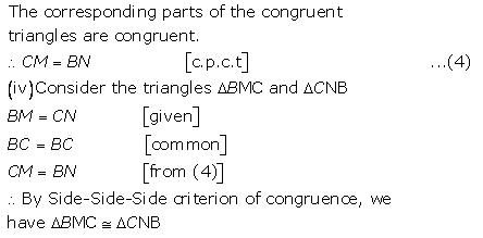Selina Concise Mathematics Class 9 ICSE Solutions Triangles [Congruency in Triangles] 41