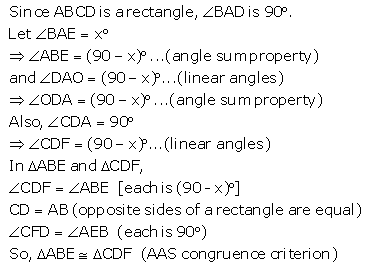 Selina Concise Mathematics Class 9 ICSE Solutions Triangles [Congruency in Triangles] 50