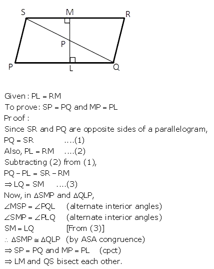 Selina Concise Mathematics Class 9 ICSE Solutions Triangles [Congruency in Triangles] 51