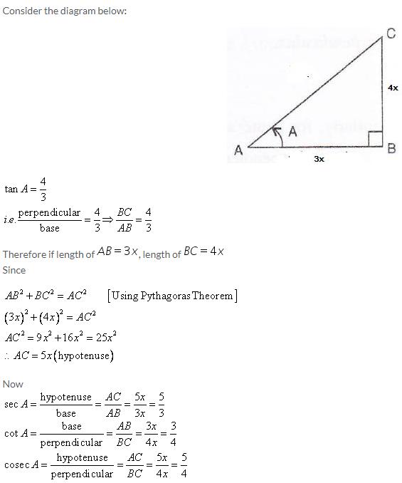Selina Concise Mathematics Class 9 ICSE Solutions Trigonometrical Ratios image - 15
