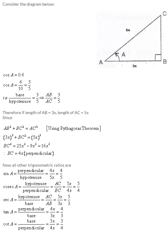 Selina Concise Mathematics Class 9 ICSE Solutions Trigonometrical Ratios image - 19
