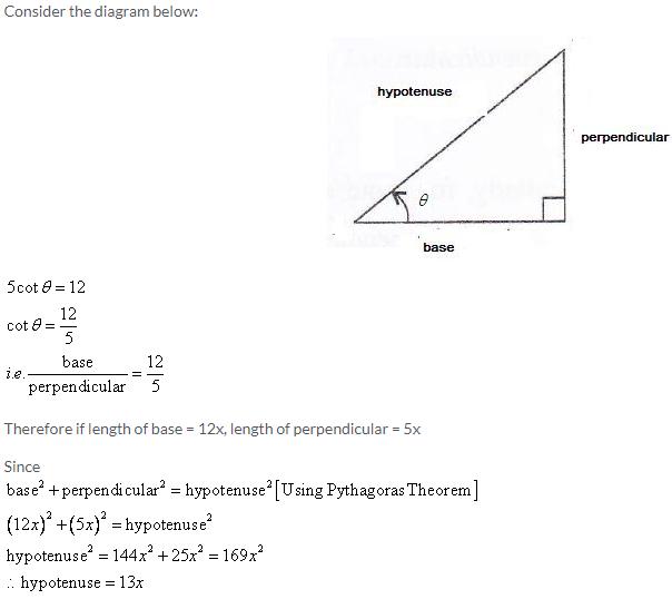 Selina Concise Mathematics Class 9 ICSE Solutions Trigonometrical Ratios image - 26