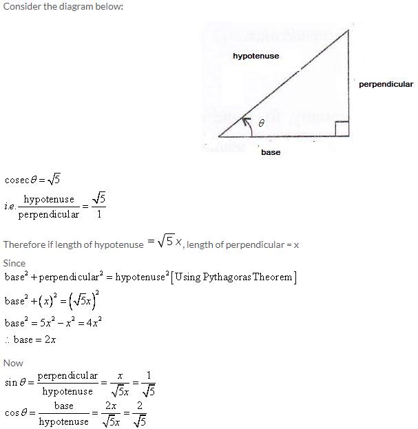 Selina Concise Mathematics Class 9 ICSE Solutions Trigonometrical Ratios image - 30