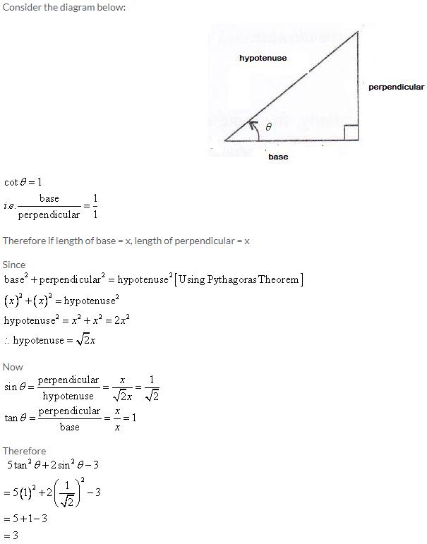 Selina Concise Mathematics Class 9 ICSE Solutions Trigonometrical Ratios image - 34