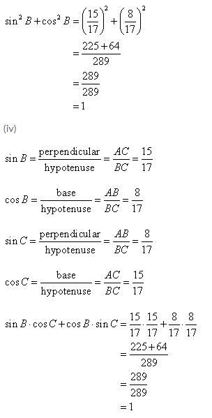 Selina Concise Mathematics Class 9 ICSE Solutions Trigonometrical Ratios image - 4