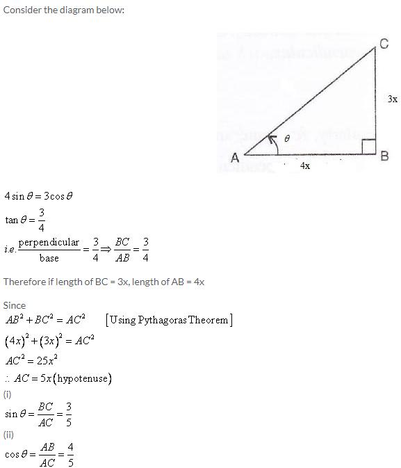 Selina Concise Mathematics Class 9 ICSE Solutions Trigonometrical Ratios image - 53
