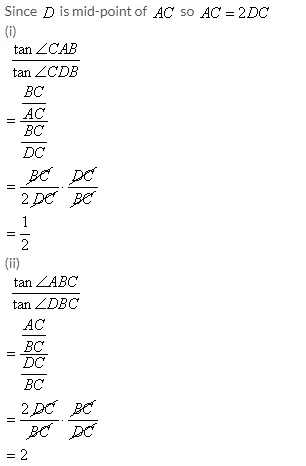 Selina Concise Mathematics Class 9 ICSE Solutions Trigonometrical Ratios image - 58