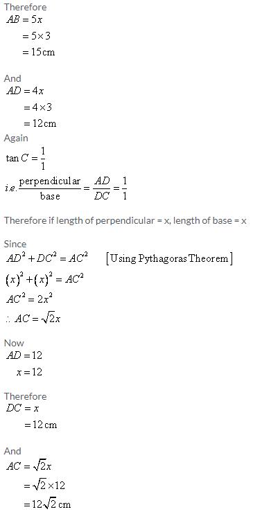 Selina Concise Mathematics Class 9 ICSE Solutions Trigonometrical Ratios image - 68