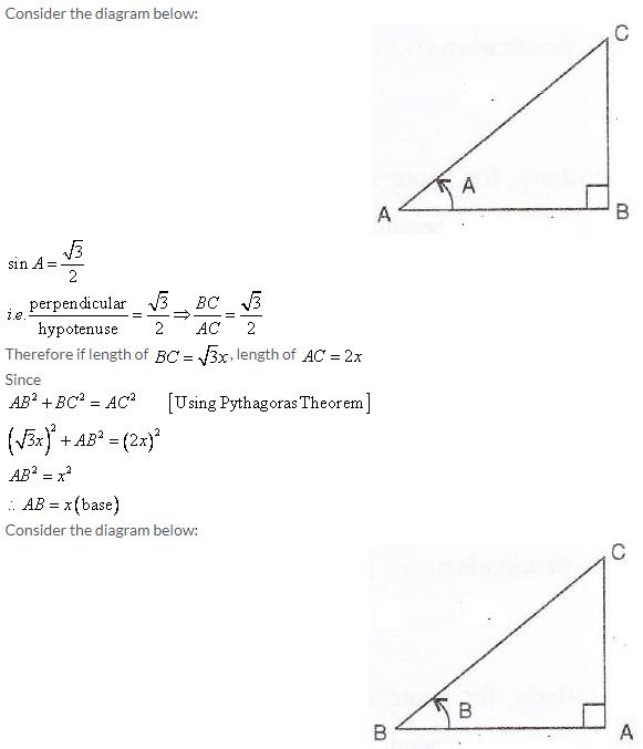 Selina Concise Mathematics Class 9 ICSE Solutions Trigonometrical Ratios image - 75