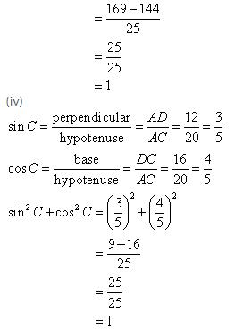 Selina Concise Mathematics Class 9 ICSE Solutions Trigonometrical Ratios image - 8