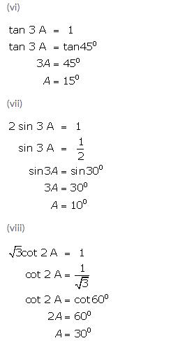 Selina Concise Mathematics Class 9 ICSE Solutions Trigonometrical Ratios of Standard Angles image - 23