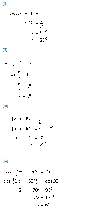 Selina Concise Mathematics Class 9 ICSE Solutions Trigonometrical Ratios of Standard Angles image - 36