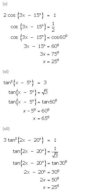 Selina Concise Mathematics Class 9 ICSE Solutions Trigonometrical Ratios of Standard Angles image - 37