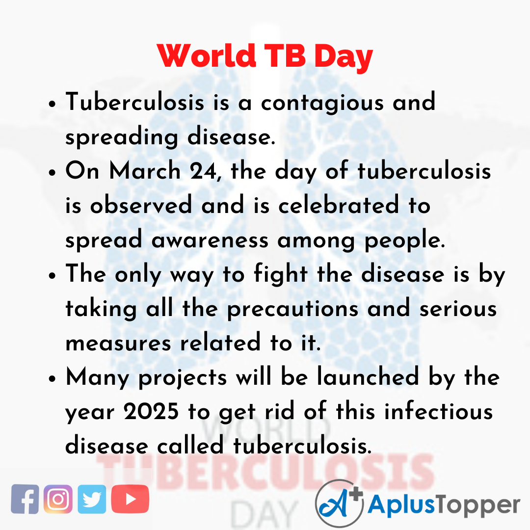 10 Lines of World TB Day