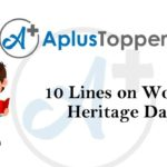 10 lines on world heritage day