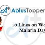 10 lines on world malaria day