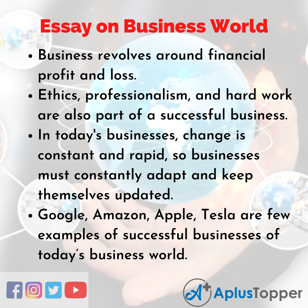 Business World Essay