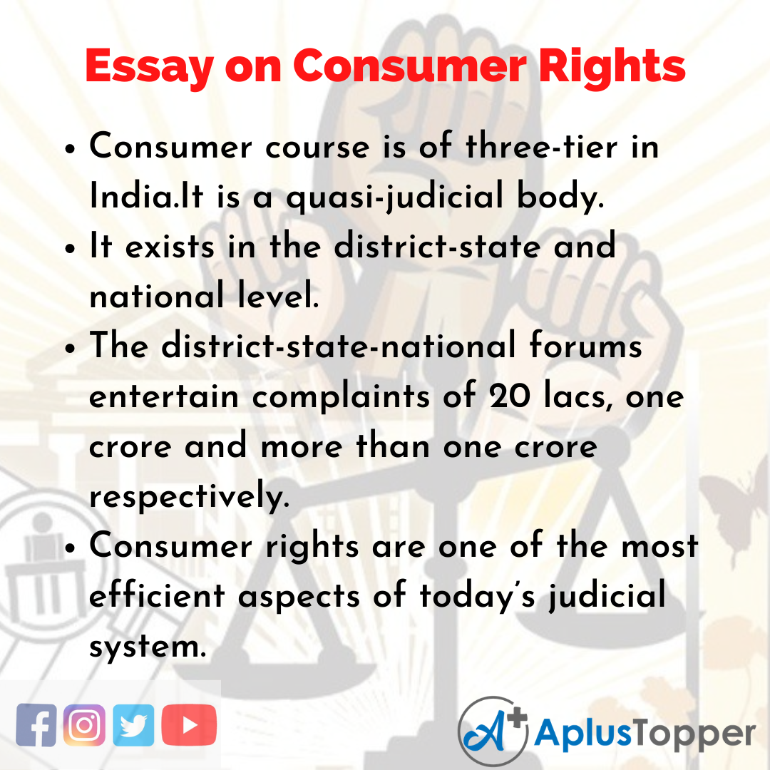 Consumer Rights Essay