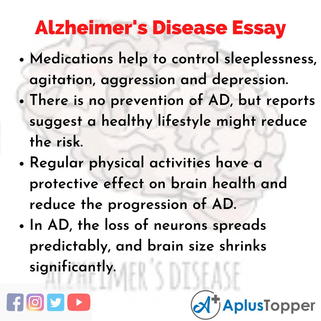 Essay about Alzheimer's Disease