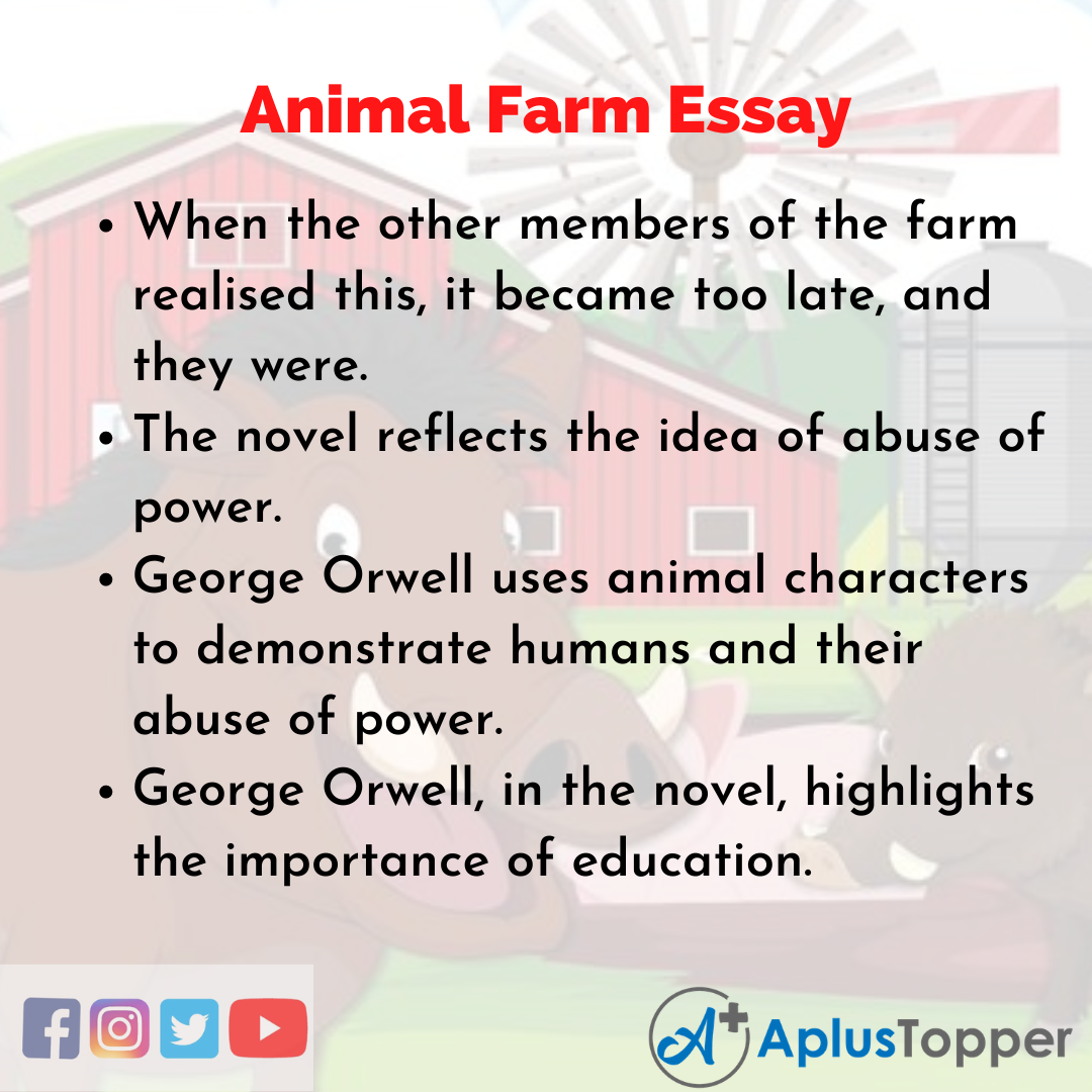Essay about Animal Farm
