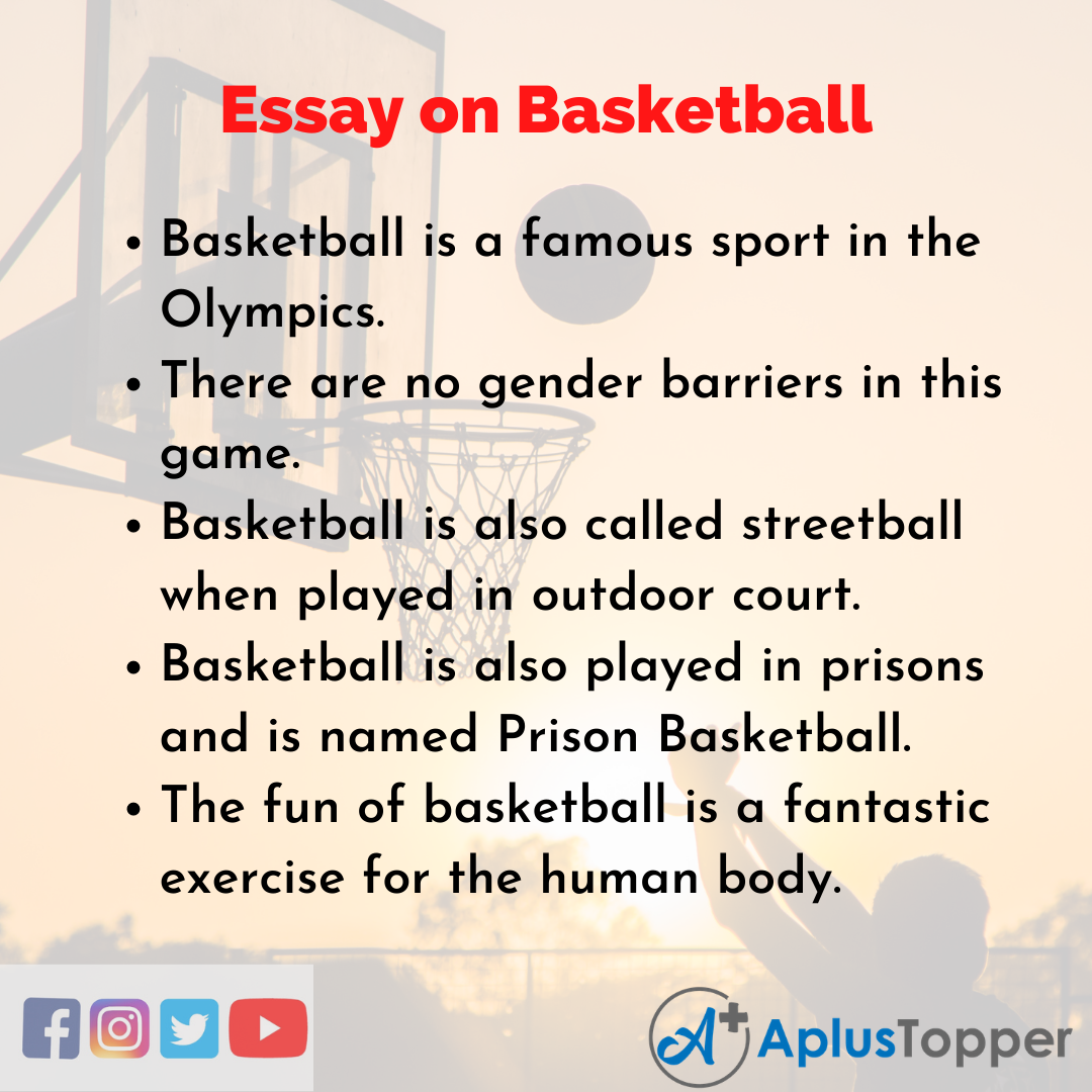 Essay about Basketball