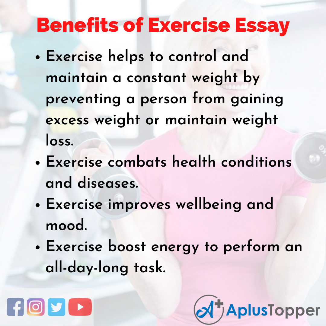 Essay about Benefits of Exercise