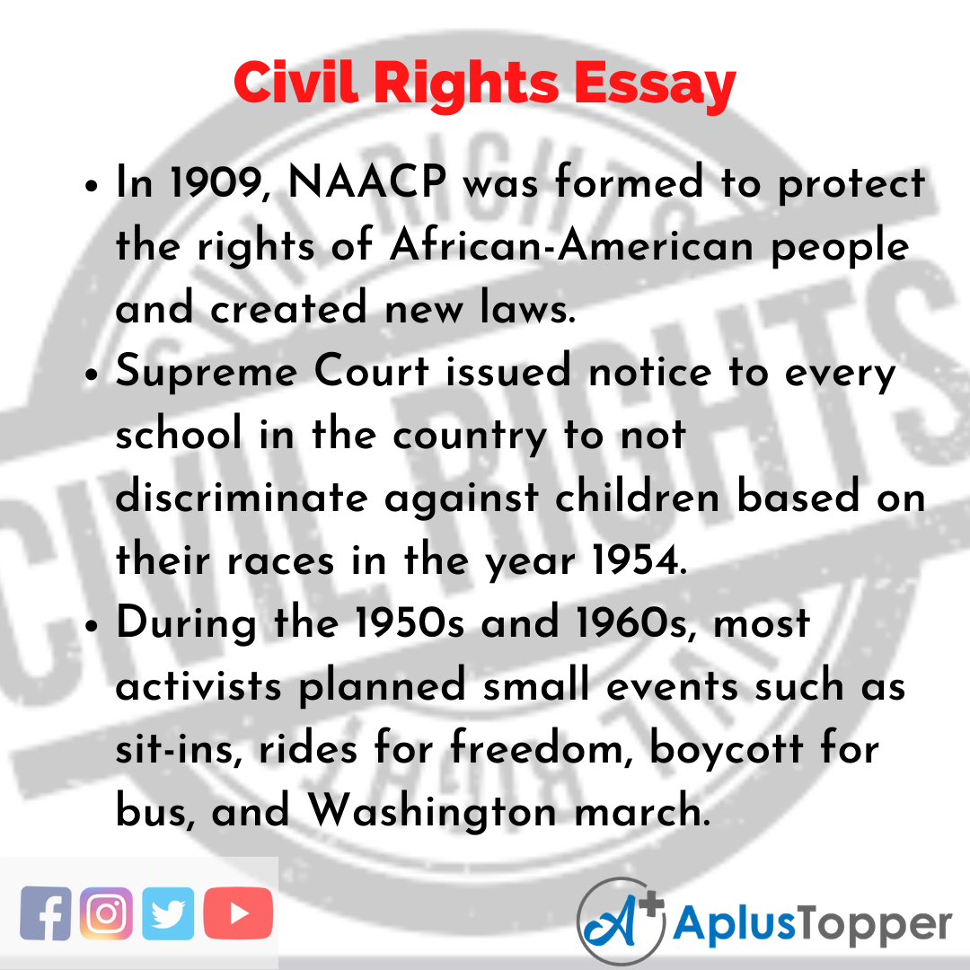 Essay about Civil Rights