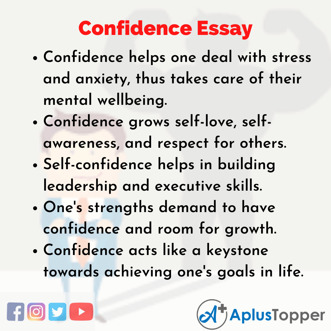 Essay about Confidence