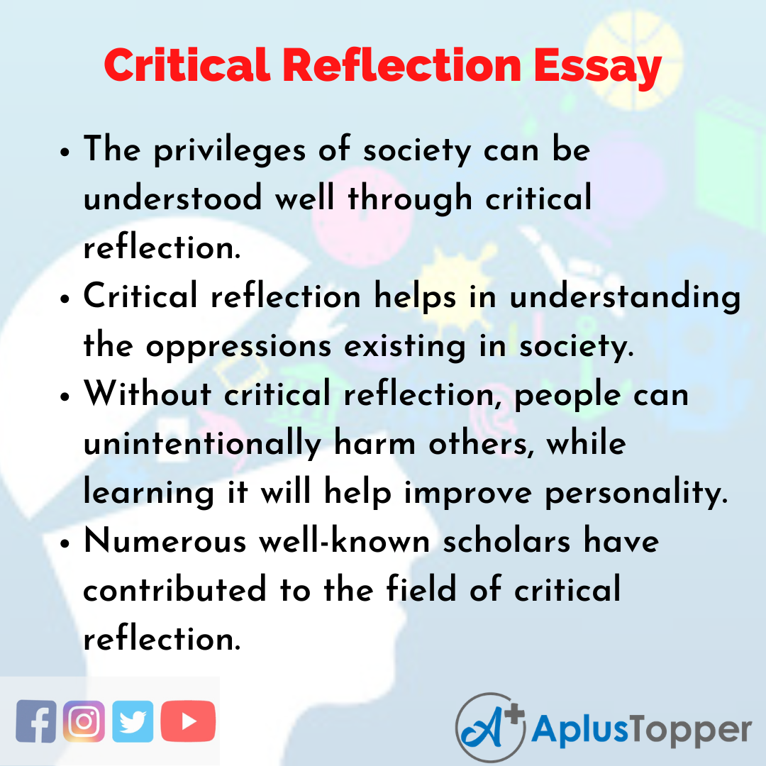 Essay about Critical Reflection
