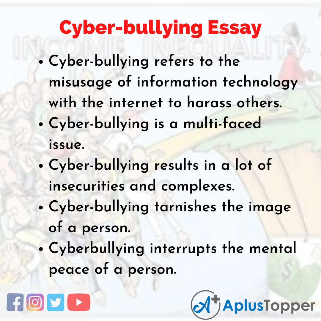Essay about Cyber-bullying