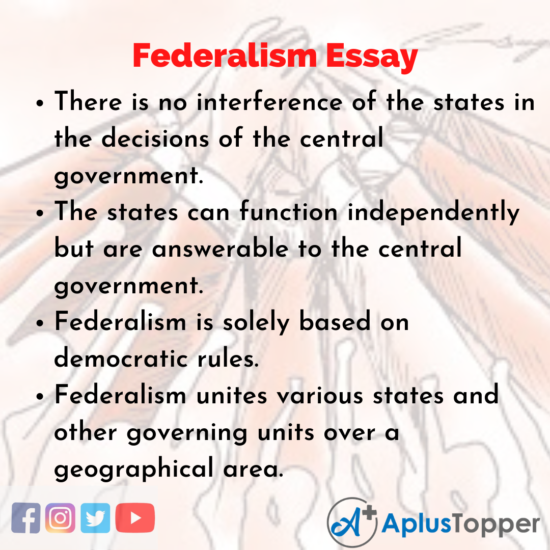 Essay about Federalism