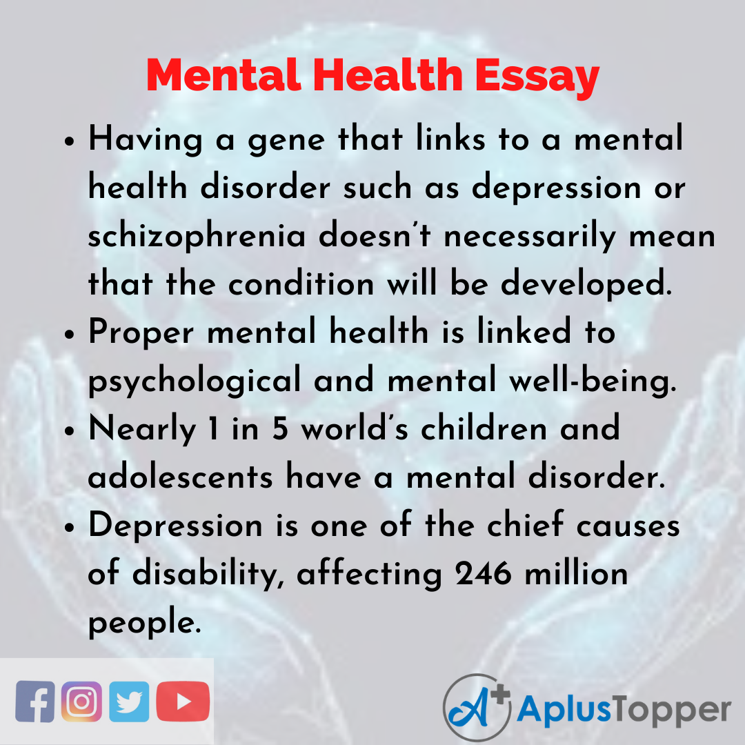 Essay about Mental Health