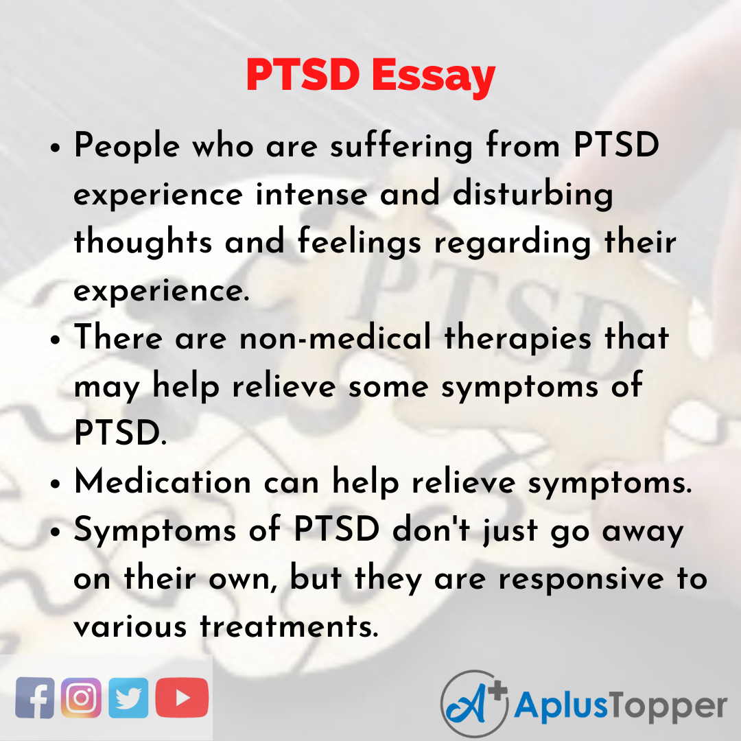 Essay about PTSD