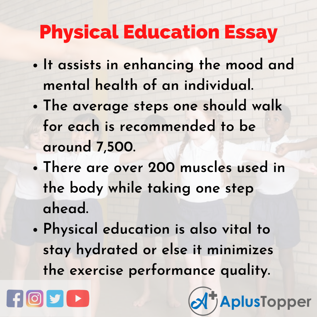 Essay about Physical Education