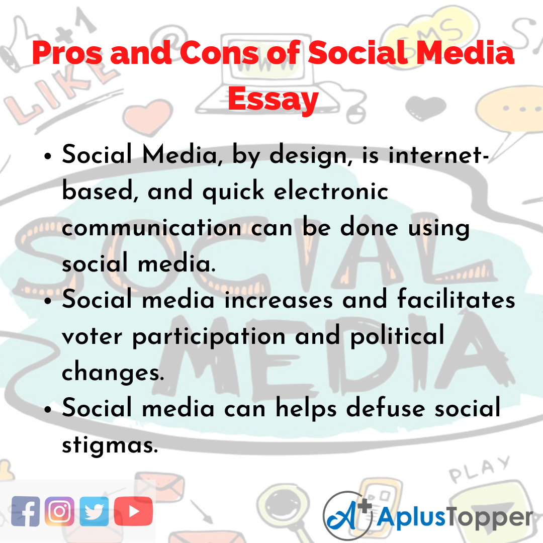 Essay about Pros and Cons of Social Media