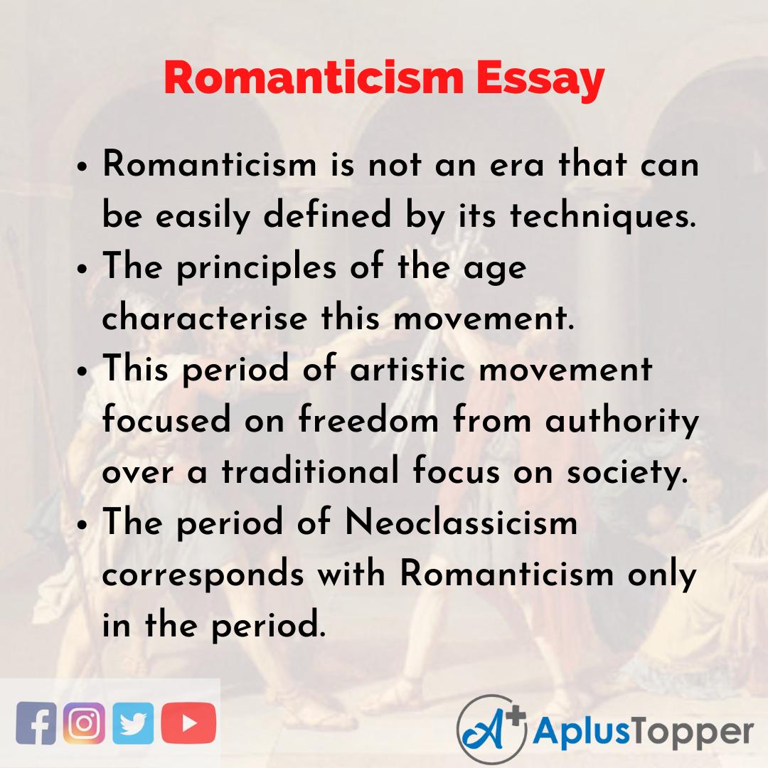 Essay about Romanticism