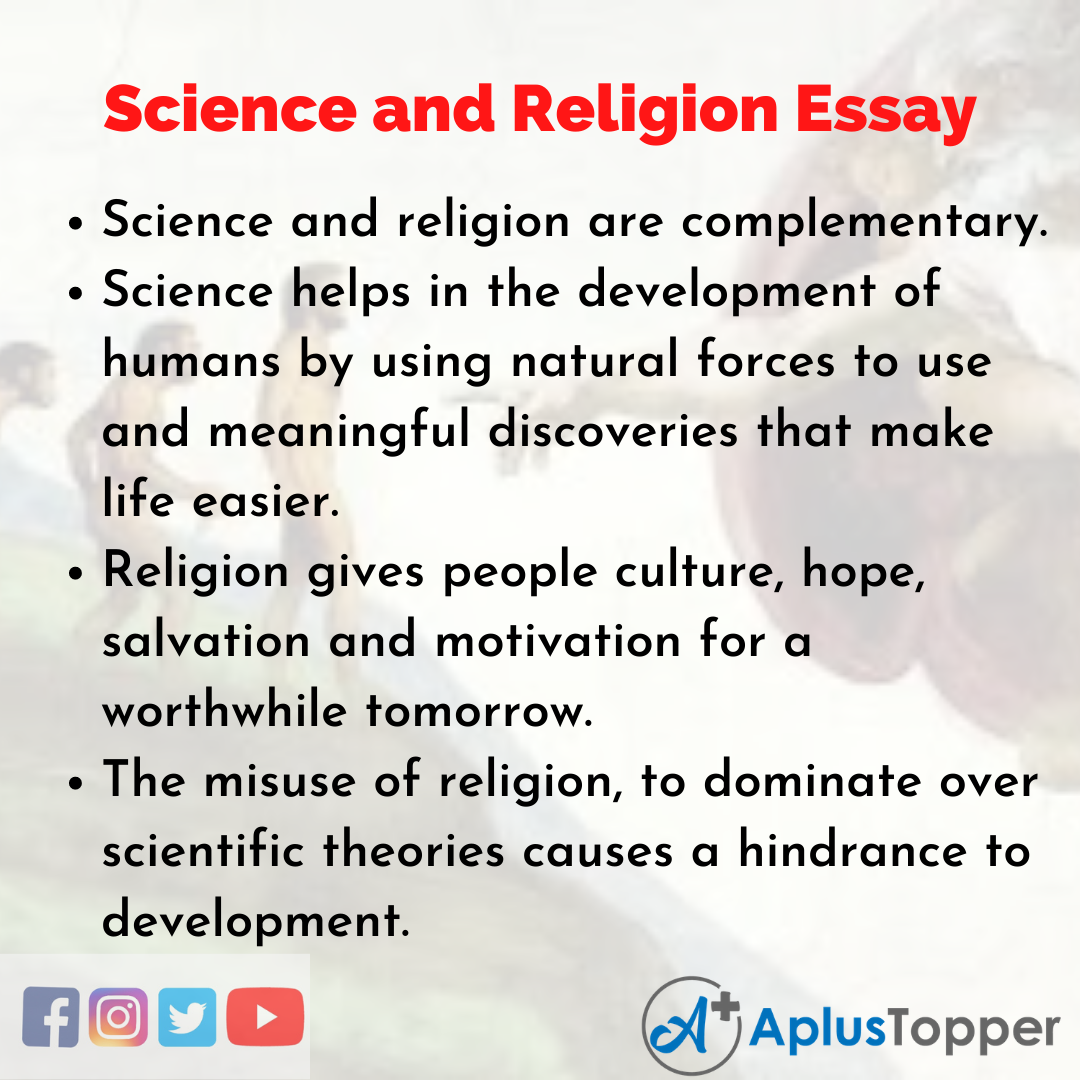 Essay about Science and Religion