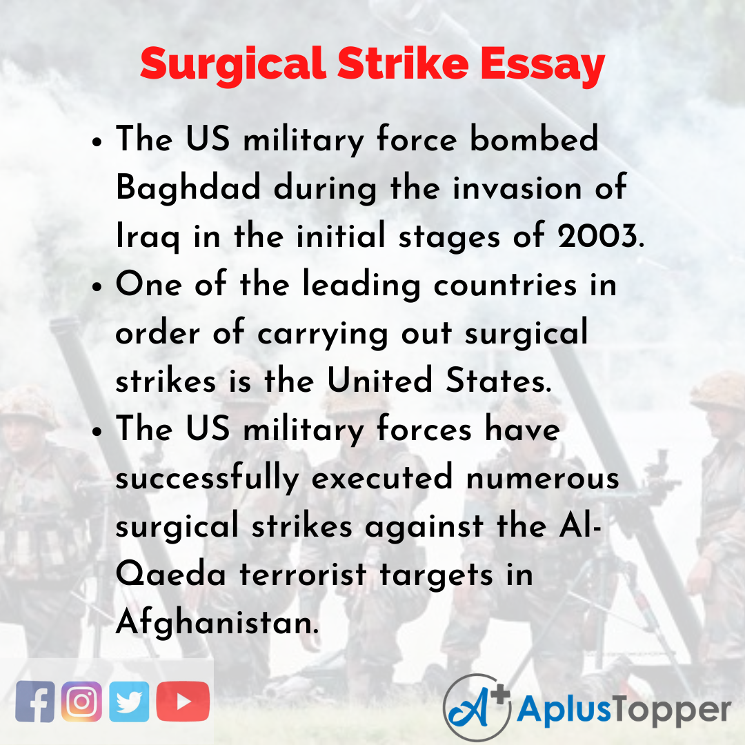 Essay about Surgical Strike